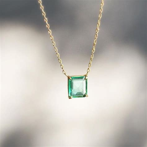 25 best ideas about emerald pendant on green