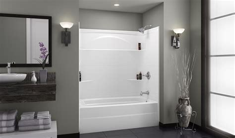 three piece bathtub 276032ar delta styla 174 60x32 acrylic with innovex