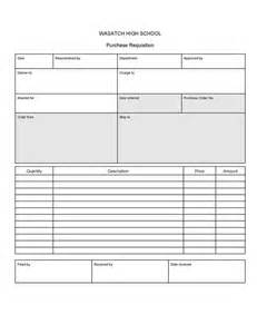 purchase requisition template excel purchase requisition template excel 28 images