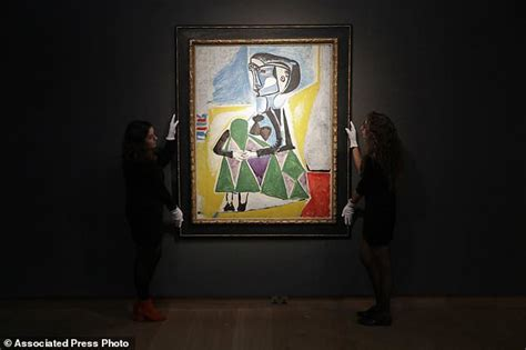 picasso paintings recent sales ap newsbreak 20m 30m picasso portrait of muse up for