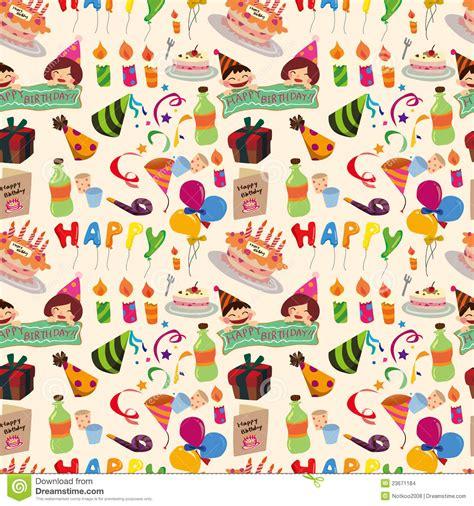 seamless pattern birthday seamless birthday pattern stock images image 23671184