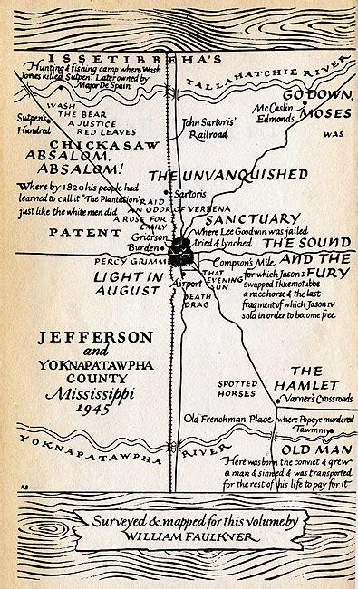 The Portable Faulkner faulkner maps