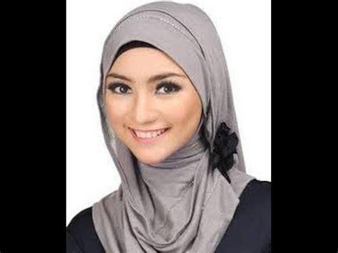 tutorial hijab segi empat citra kirana video kreasi hijab segi tiga ala citra kirana kombinasi