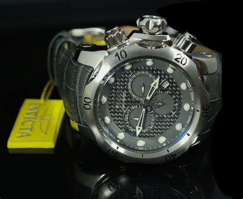 Invicta Venom Reserve invicta reserve 15463 52mm venom swiss chrono gray carbon fiber wristwatches