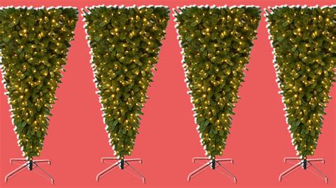 upside down christmas tree upside down christmas trees are a trend but not everyone