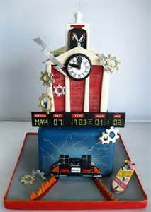 back to the future cake idea for that back to the future