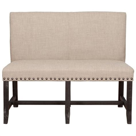 kitchen settee modus furniture yosemite dining settee in cafe 7yc969