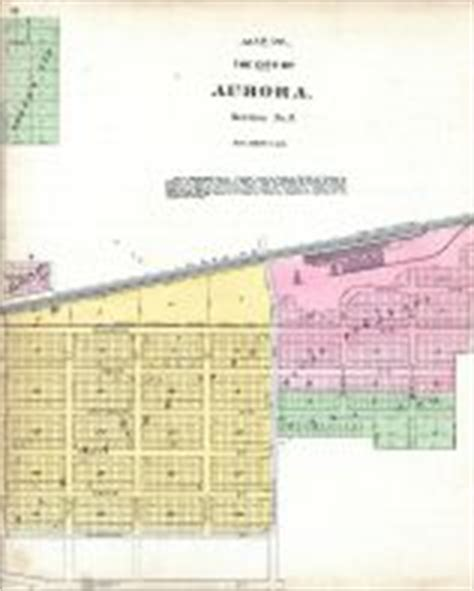 section 8 in aurora il kane county 1892 illinois historical atlas