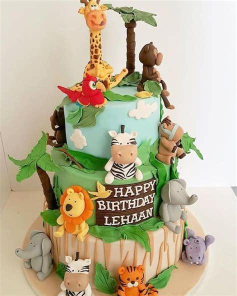jungle bolo jungle theme cake bolo decorado jungle