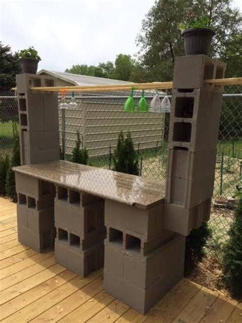 Cinder Block Patio by What Are You Doing With Restore Materials Made A