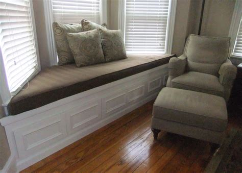 how to make a window bench seat cushion interior living room fashionable white and yellows