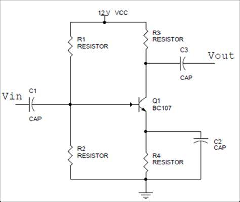 coupling capacitor common emitter transistor as lifier rc coupled lifier circuit