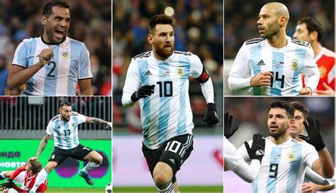 argentina en mundial rusia 2018 la espectacular