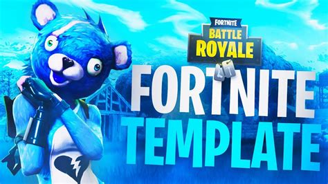 fortnite thumbnail template new free fortnite thumbnail template quot cuddly team leader