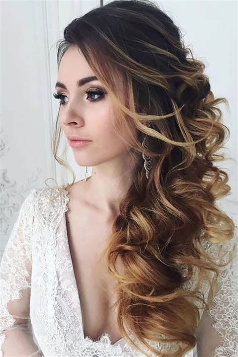 bridesmaid side hairstyles ideas  pinterest side hairstyles bridal side bun