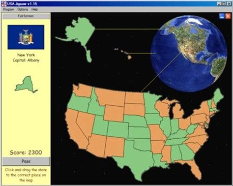 united states map drag and drop usa jigsaw puzzle drag and drop the states into place
