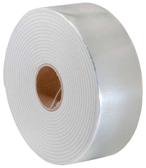 Insulating Self Bording 050mmx20mmx10mtr pipe insulation wrap self adhesive silver 1 8 quot x 2 quot x 15 h s building supplies
