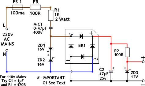 Limited Adaptor Dual Output D 50a 5v Dc 6a 12v Dc 2a transformerless power supply 13 february 2012 circuits