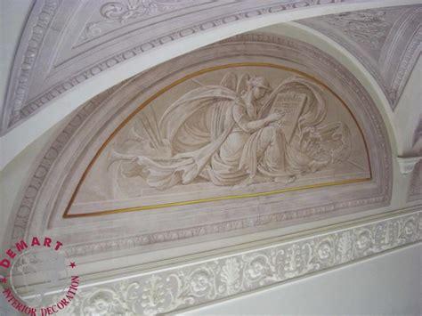 decorare soffitto decorazione pareti e soffitto per ingresso scala e camere