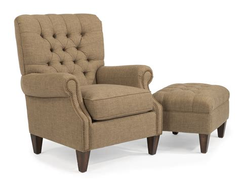 Flexsteel Living Room Fabric Chair 0610 10 Hton House Fabric Living Room Chairs