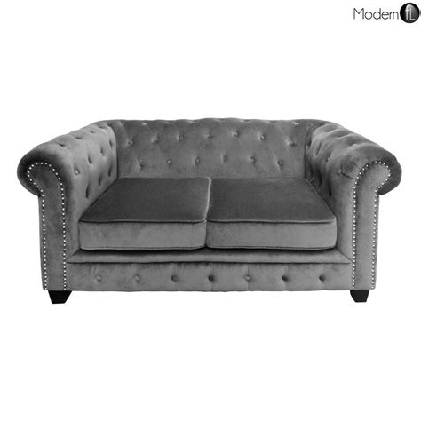 grey velvet chesterfield sofa grey velvet chesterfield style sofa grey velvet sofa with