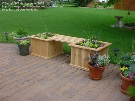 cedar planter bench pdf diy cedar planter box bench plans download cedar