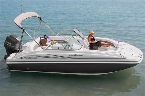 Hurricane Deck Boats For Sale by 2017 New Hurricane Sundeck 187 Ob Deck Boat For Sale