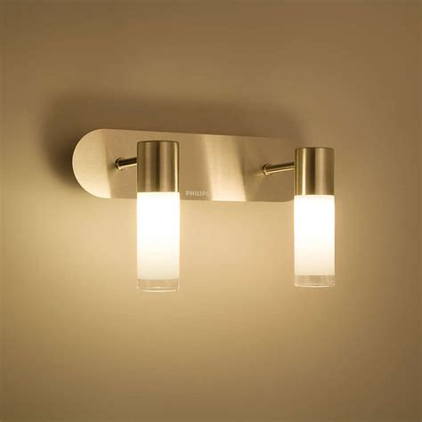 Philips 30922 11 66 Vera Led Bathroom Wall Surface Light Philips Led Bathroom Lights