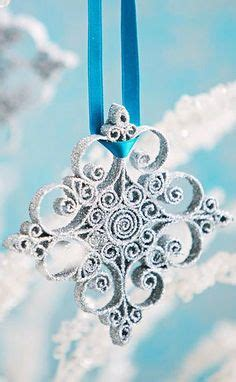 Better Homes And Gardens Christmas Crafts - christmas snowflakes amp snow on pinterest beaded snowflake snowflake ornaments and snowflakes
