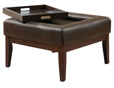 ottoman table combination 36 top brown leather ottoman coffee tables