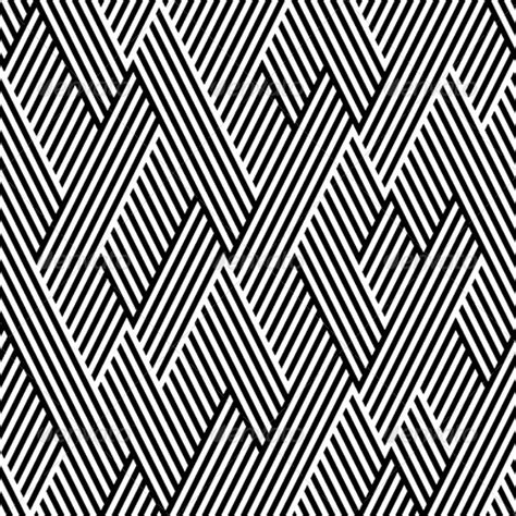 pattern lines design pattern in zigzag with line black and white white