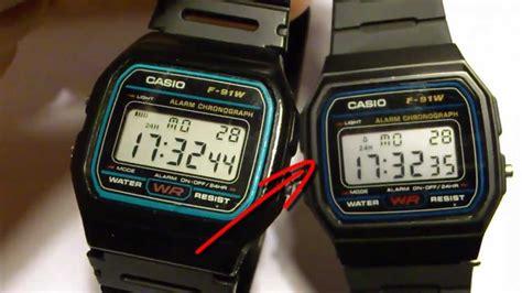 Casio Original F 200w 2b casio falsificacion reloj digital