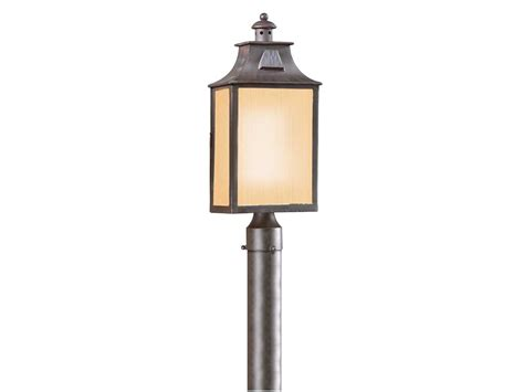 Troy Lighting Newton Old Bronze Fluorescent Outdoor Post Outdoor Fluorescent Lighting