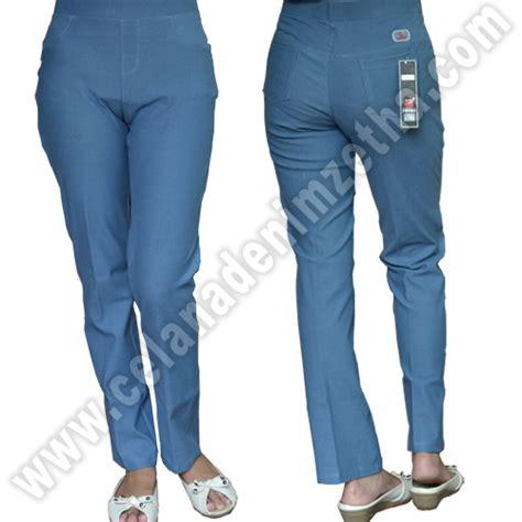 Celana Warna Biru Navy celana zetha denim warna biru sedang celana denim zetha