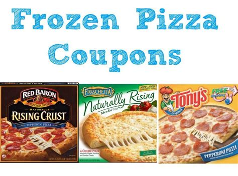 coupon frozen pizza