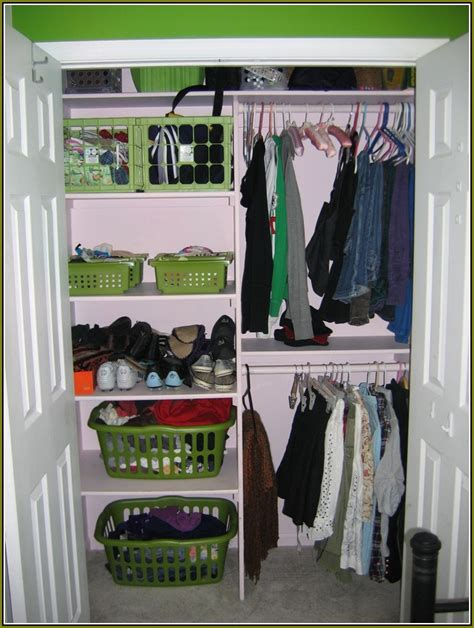 Organizing A Small Closet With Sliding Doors Home Design How To Organize A Closet With Sliding Doors