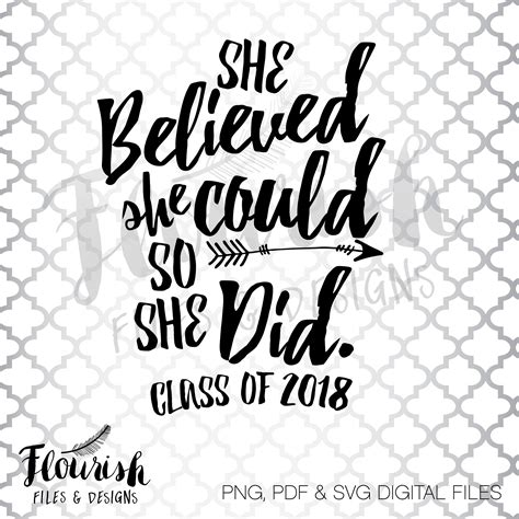 she believed she could so she did 2018 planner weekly and monthly calendar schedule organizer and journal notebook books she believed she could so she did digital cut files svg png