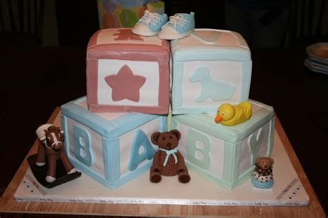 Baby Shower Cakes With Blocks by Baby Shower Building Blocks Cake Cakecentral