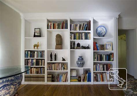 custom made bookshelves custom made bookcase white by serrao cabinets design custommade