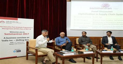 Mba Conclave 2017 by Sammantran 2017 Iim Bangalore Conclave On India S Fast