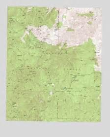 crown king az topographic map topoquest