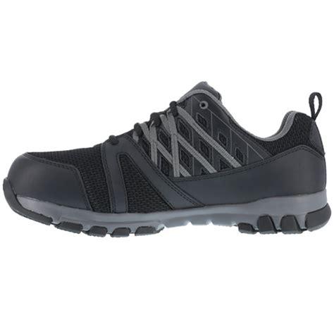womens steel toe tennis shoes reebok sublite work womens steel toe athletic work shoe rb416