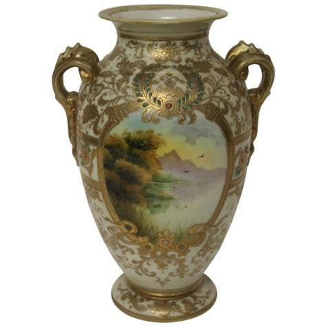 Painted Vase by Nippon Painted Vase