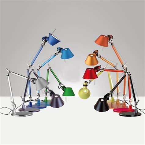 tolomeo micro table l artemide tolomeo micro table light aluminium arredare
