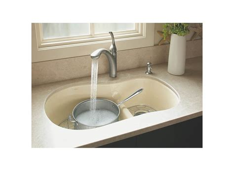 kohler kitchen sinks faucets faucet com k 10433 vs in vibrant stainless by kohler