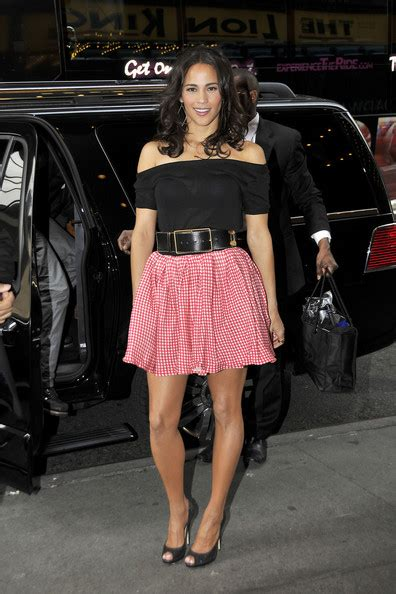 In Closet Paula Patton by Look For Less Paula Patton Promoting Jumping The Broom At