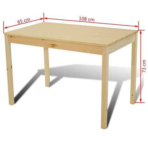 tavolo con 4 sedie articoli per tavolo con 4 sedie in legno naturale vidaxl it