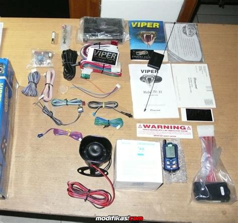 Jual Alarm Viper wts viper 791 xv 2 way car alarm with remote start system