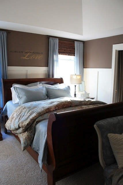 blue  brown master bedroom       bedroom       dorm