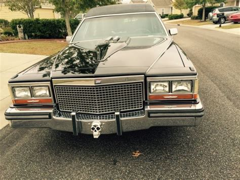 1987 Cadillac Brougham For Sale by 1987 Cadillac Brougham Hearse Custom Set Up